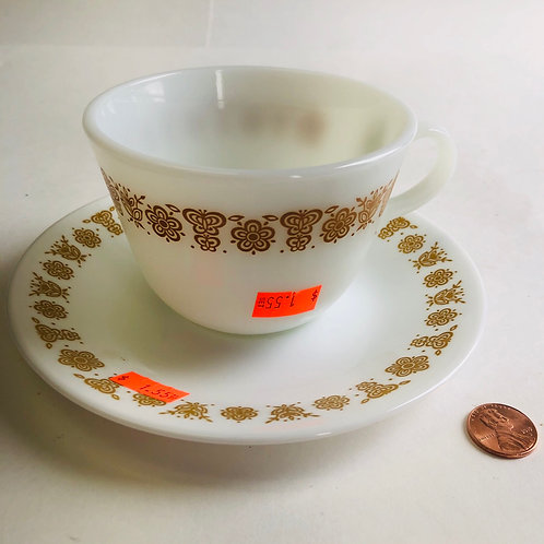 Corelle Cup and Saucer set