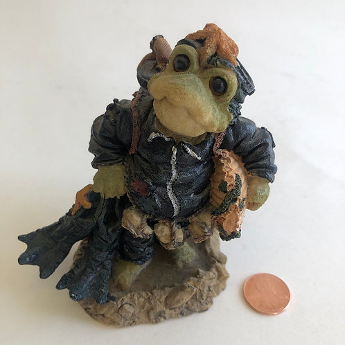 Boyds Bears & Friends Figurine - Wee Folkstone Ribbit & Co.