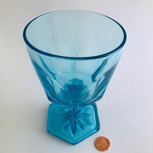 """5.5"""" Light Blue Goblet"""