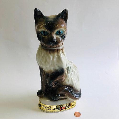 Jim Beam's Trophy - Cat (empty)