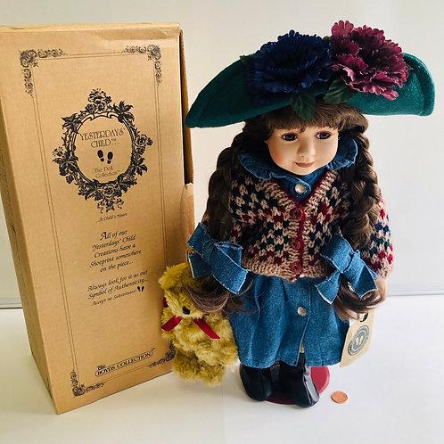 Boyd's Collection LTD. Yesterday's Child Porcelain Doll - Karen