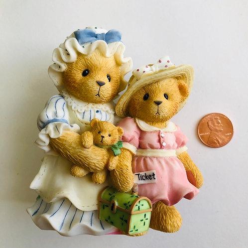 Cherished Teddies - Charissa & Ashlynn Figurine