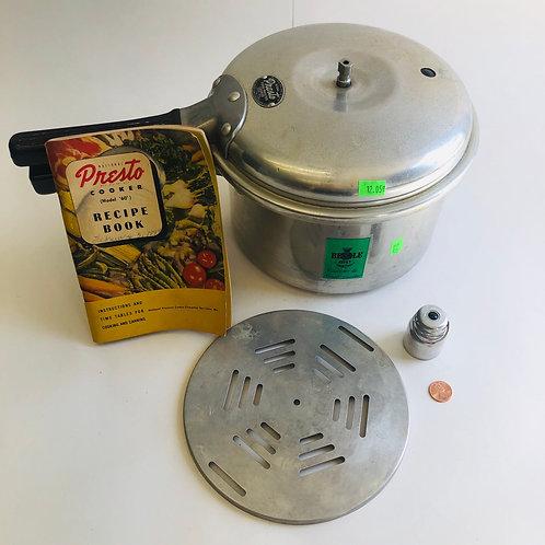Vintage Presto Cook-Master Pressure Cooker