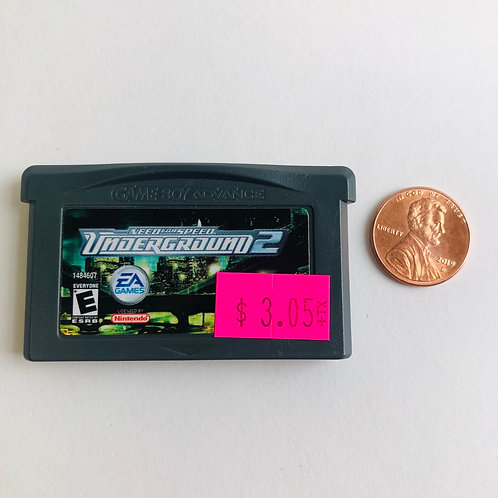 Need for Speed: Underground 2 for Nintendo GBA