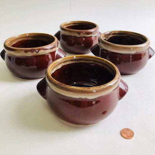 Brown Drip Soup Bowl (single)