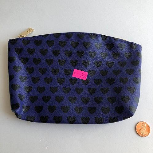 Blue & Black Cosmetic Bag