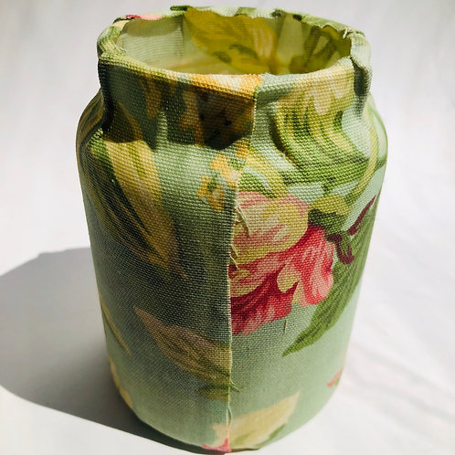 Cloth Wrapped Candle