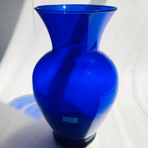 Cobalt Blue Traditional Vase