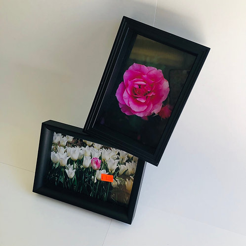 "Artistic Dual Attached 4"" x 6"" Frame"