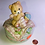 Thumbnail: Porcelain Teddy Bear Music Box.