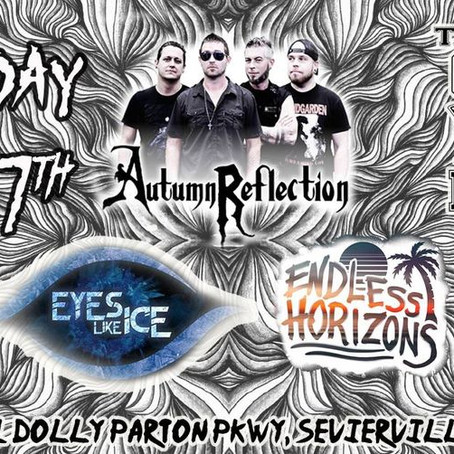 Ready to finally get out and see some live music? Come see the 'Eyes Like Ice' live debut FREE!