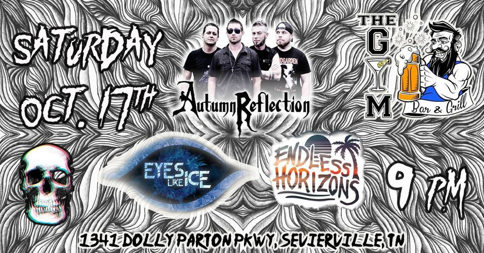 Eyes Like Ice Show Poster Gym Bar Sevierville TN