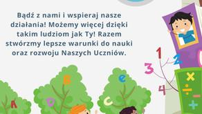 Przekaż  podatku 1% podatku na ZSP Gosławice