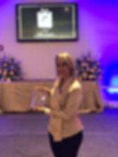 teacher of the year 2019 Arelys Ramirez.