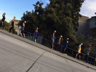 Breaker's Athletics Team Stair Climb!!!