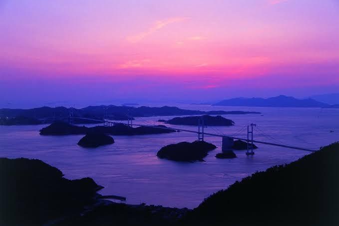 亀老山展望公園・不思議な風景