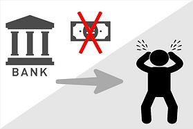 風評被害 融資の中止