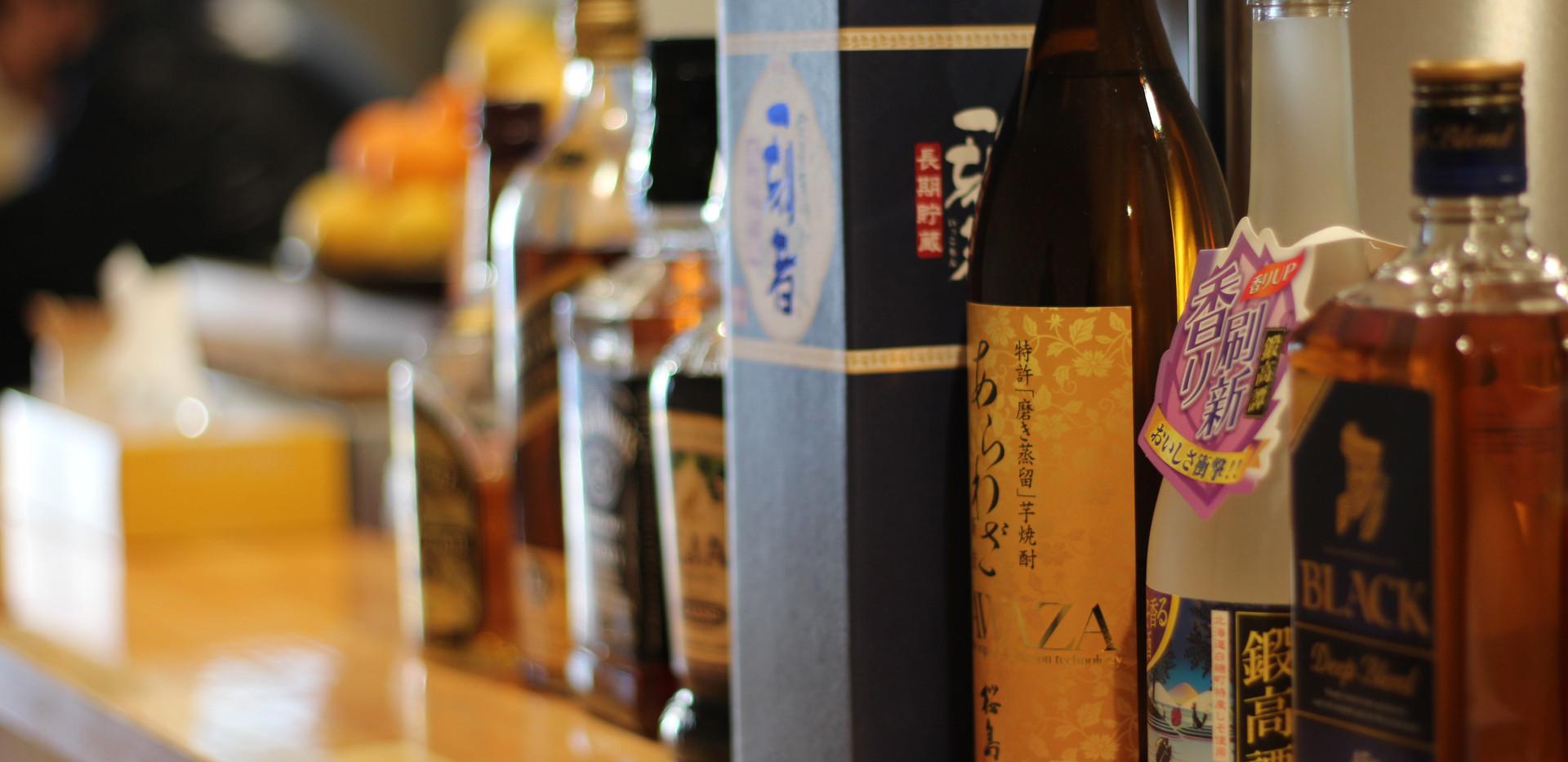 居酒屋ピエロ・お酒各種