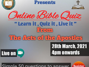 Bible quiz 3 - Acts of the Apostles