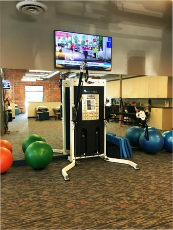 Workout Area TV