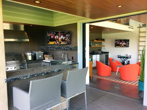 Kitchen and BBQ TVs