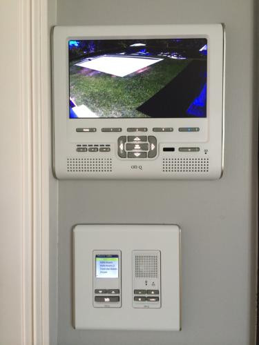 Camera Monitor and Intercom