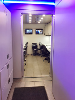 Control room hallway.