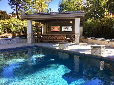 Pool and Loggia