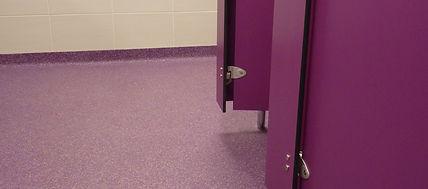 BIF EP Flake in Washroom