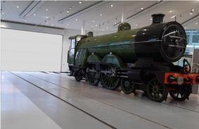 Locomotive Display Area