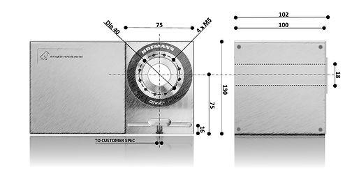Hofmann RWNC -75 Dimensional Sketch