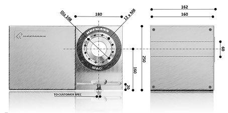 Hofmann RWNC-160 Dimension Sketch
