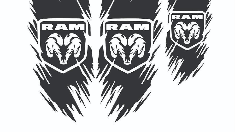 Ensemble RAM décoratif