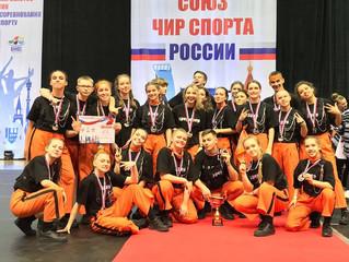 Apes Crew на чемпионате и первенстве России по чир-спорту!
