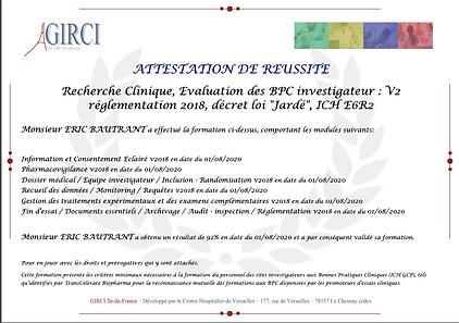 Certificat BPC Eric Bautrant 01-08-20.pn