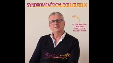 Nouvelle vidéo sur LE SYNDROME VESICAL DOULOUREUX réalisée par le Dr Eric Bautrant, médecin au