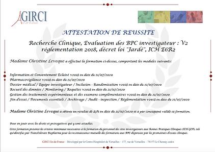 BPC Dr Leveque  | L'AVANCEE Centre gynécologique | Aix-en-Provence
