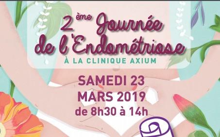 2ème Journée de l'endométriose le 23 mars 2019 organisée par L'Avancée à Aix en Provence
