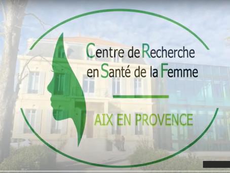 Vidéo de présentation du CRSF -  Centre de Recherche en Santé de la Femme - Aix en Provence