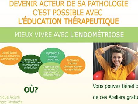 Lancement du 1er projet d'Education thérapeutique en PACA pour les femmes atteintes d'endométriose