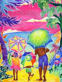 Rainyday walk.