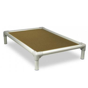 Kuranda Bed Indestructible Chew Proof Gold Almond PVC Frame