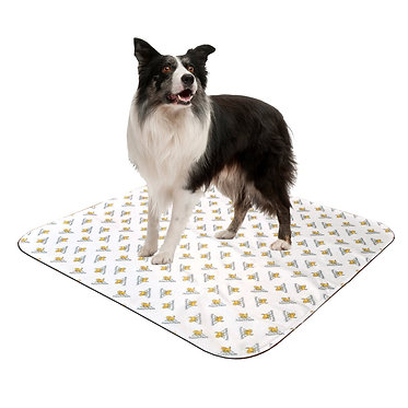 Pooch Pads Washable Potty Pad in Action