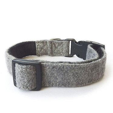Hailey & Oscar UK Wool Collar Grey Gray