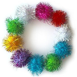 Tinsel Balls Cat Toy Variety