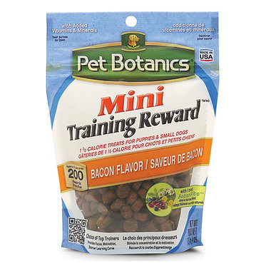 Pet Botanics Mini Reward Treats Bacon