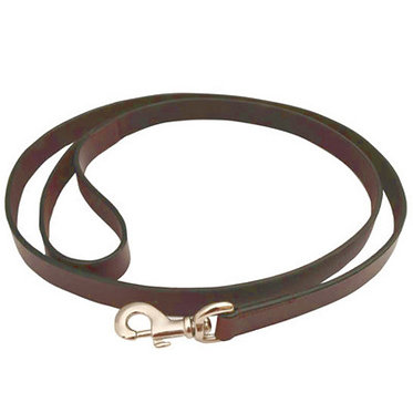 Jeffers Flat Brown Leather Premium Lead