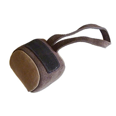 UK Leather Suede Baseball Chew Toy