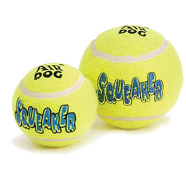 Air Kong Squeaker Tennis Ball Sizes