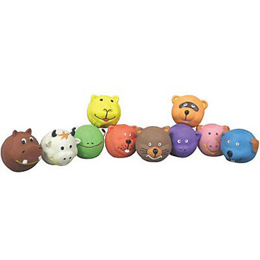 SQUEAKIES LATEX TOYS FOR SMALL DOGS & PUPPIES